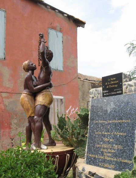 Memorial Statue of the liberation of slavery, Il de Goree, Senegal