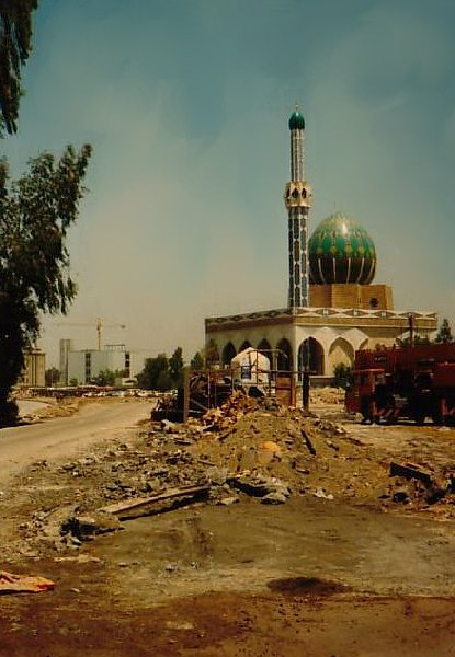 Photo of the Albunneya mosque in Baghdad, Iraq, Baghdad Iraq
