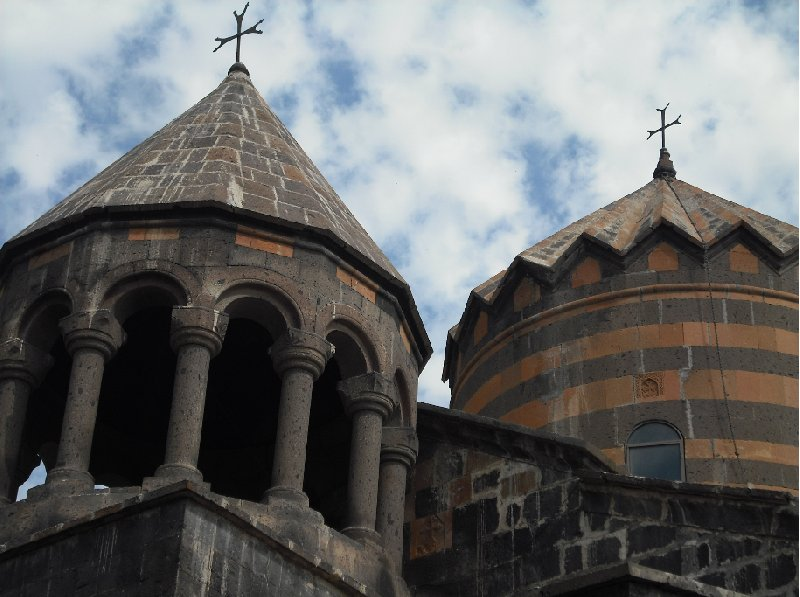 Pictures of the Katoghike Church in Yerevan, Armenia