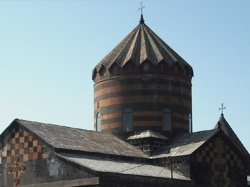 Photos of the Katoghike Church in Yerevan, Armenia