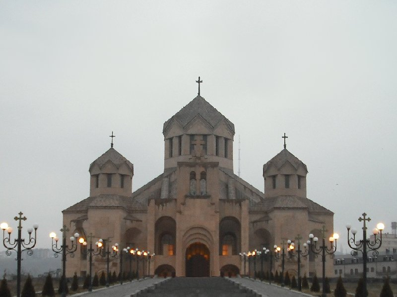 Photos of the St Gregory the Illumminator Cathedral in Yerevan, Armenia