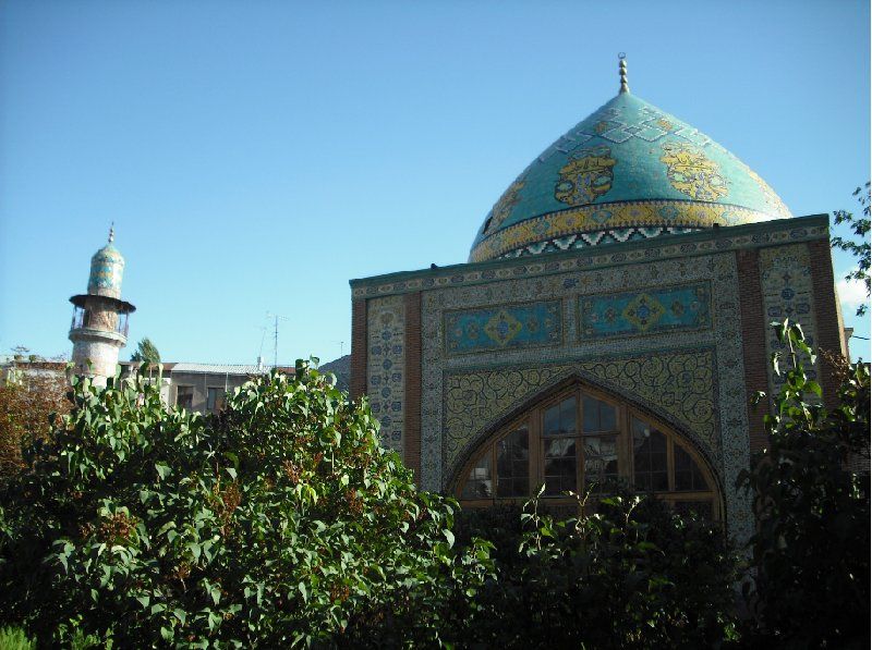 Pictures of the Blue Mosque, Gok Jami, in Yerevan, Armenia, Armenia