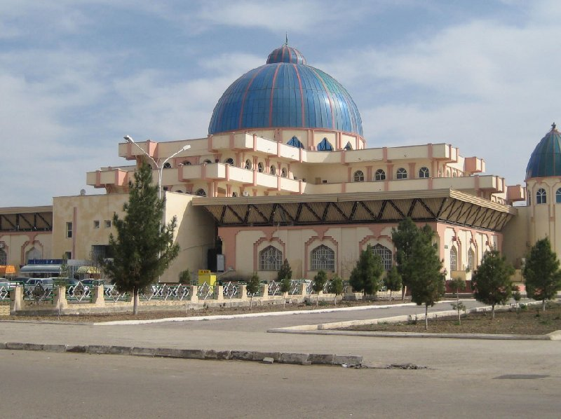 Photos of the Mosque in Mary, Turkmenistan, Turkmenistan