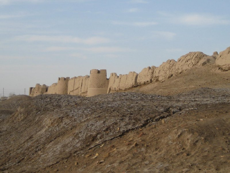 Photos of the Merv City walls, Turkmenistan, Mary Turkmenistan
