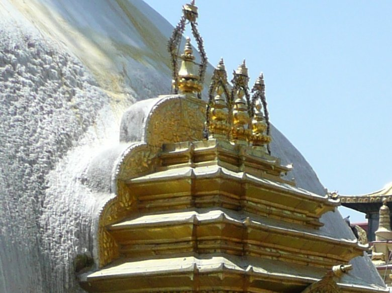 The Stupa of Katmundu, Myanmar, Nepal