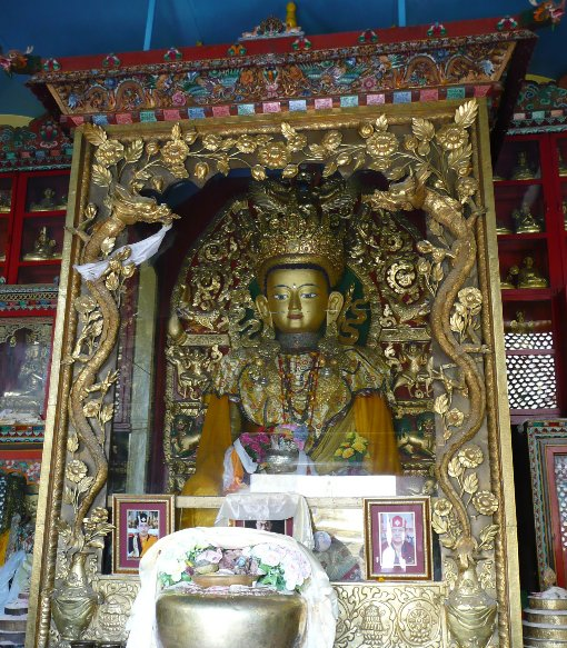 Buddhist shrine in Katmunda, Myanmar, Nepal