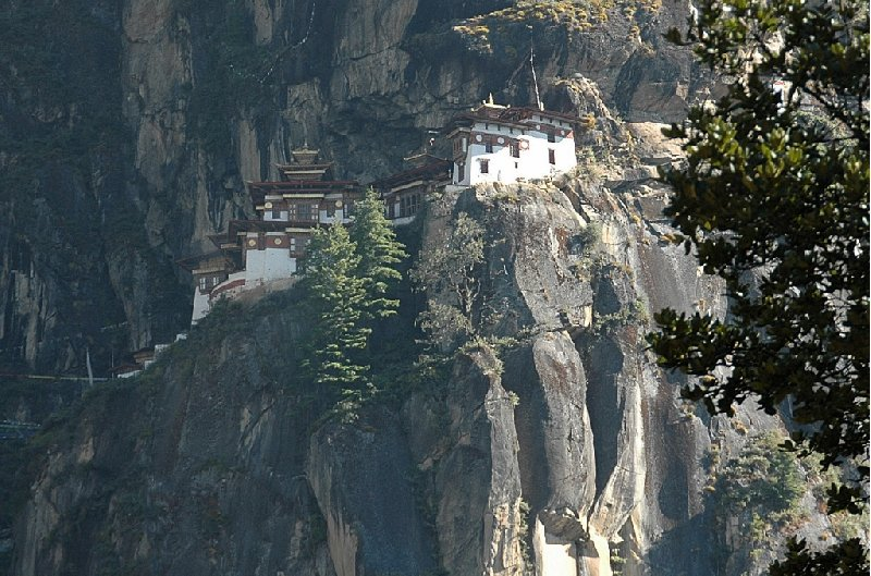 pictures of the Tiger's Nest monastery of Taktsang Dzong, Bhutan, Paro Bhutan