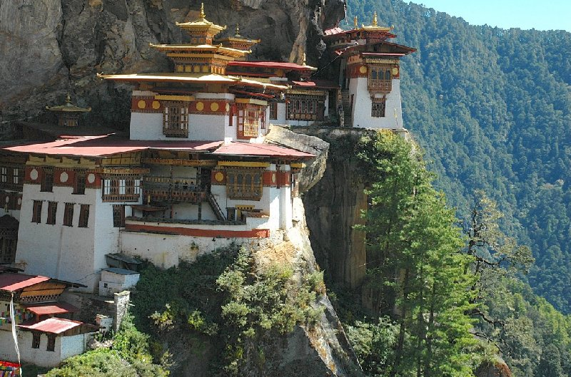 Photos of Tiger's Nest monastery of Taktsang Dzong, Bhutan, Bhutan