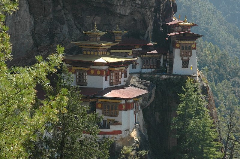 Photos of the Taktsang Dzong, Bhutan, Bhutan