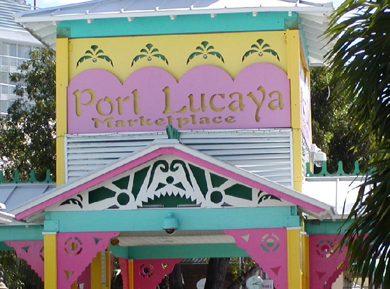 Port Lucaya Market place, the Bahama's, Freeport Bahamas