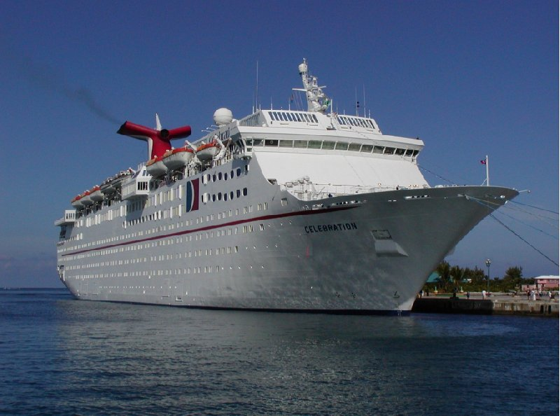 Freeport Bahamas Photos of the Celebration Cruise Ship