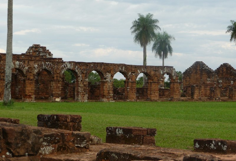 Photos of the Jesuit ruins in Paraguay, Paraguay