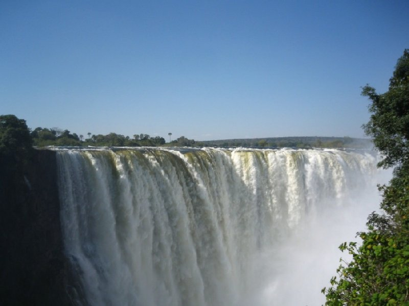 Photos of Mosi-oa-Tunya Falls in Zimbabwe, Zimbabwe