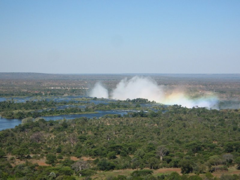 The Zambezi River and the Falls, Zimbabwe, Victoria Falls Zimbabwe