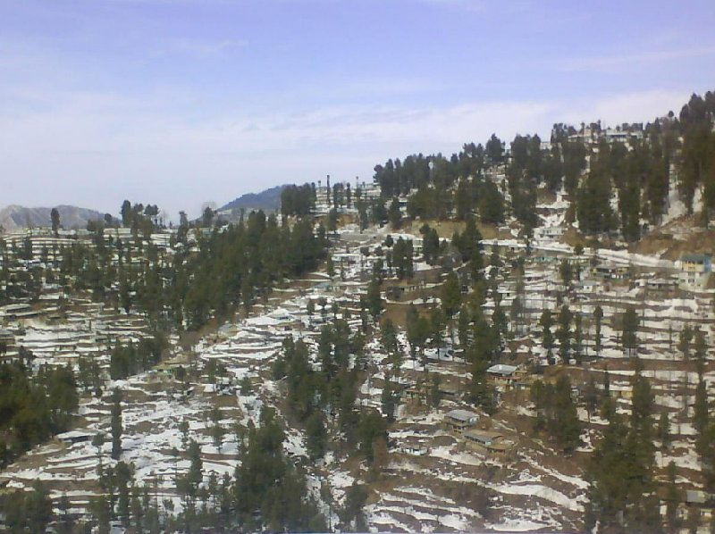 From Islamabab to the Murree Hills, Pakistan, Murree Pakistan
