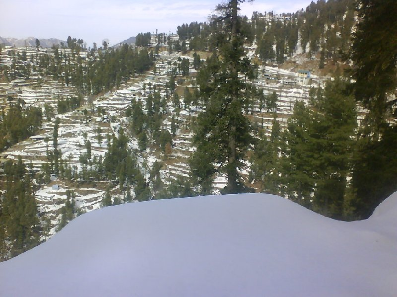 Wintertime in the north of Pakistan, Murree Pakistan