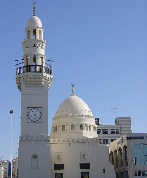 Photos of the Yateem Mosque in Central Manama, Bahrain