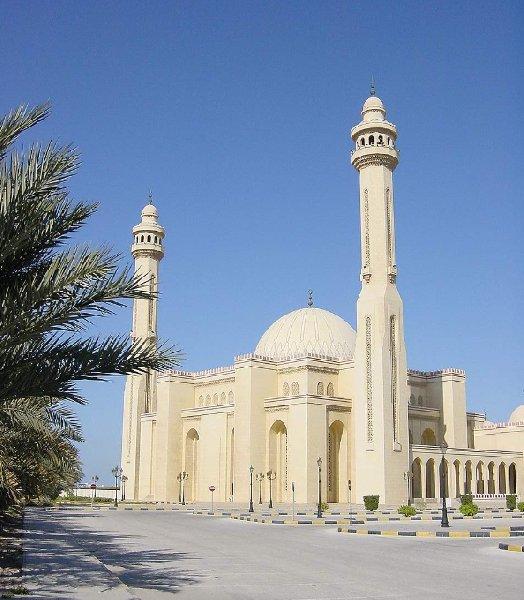 Al Fateh Mosque in Manama, Bahrein, Bahrain