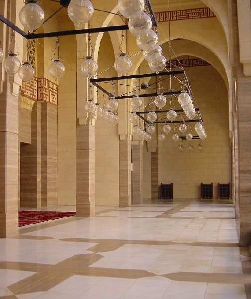 Photos inside the Al Fateh Mosque in Manama, Bahrein, Bahrain