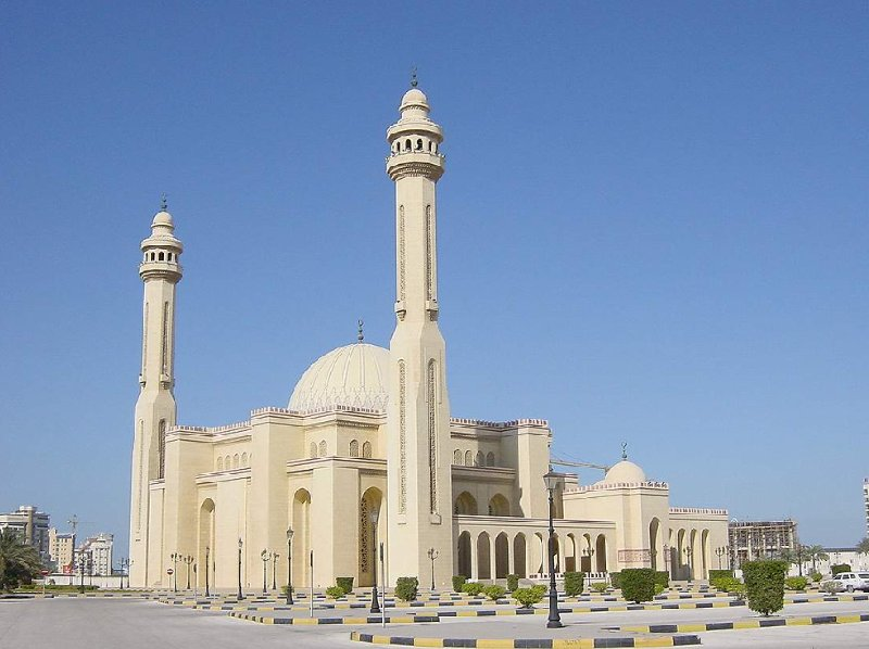 Pictures of the Al Fateh Mosque in Manama, Bahrein, Bahrain