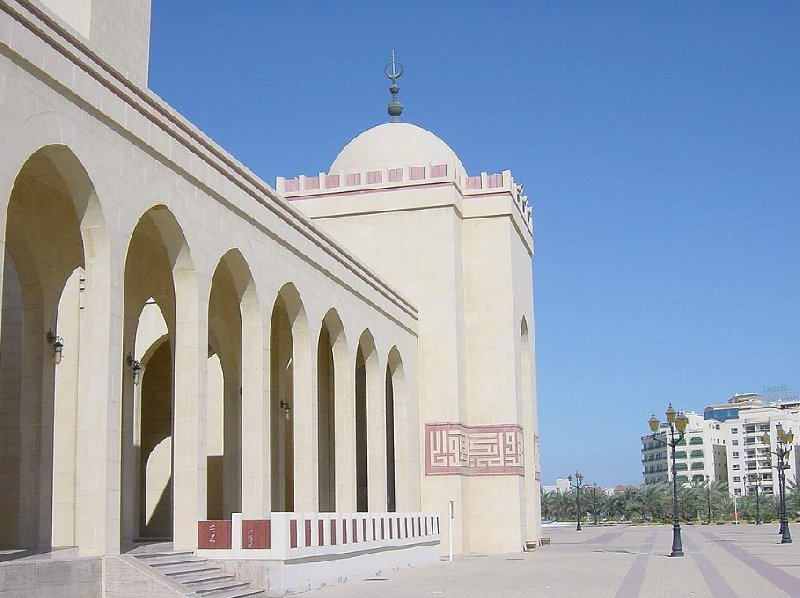 Photos of the Al Fateh Mosque in Manama, Bahrein, Bahrain