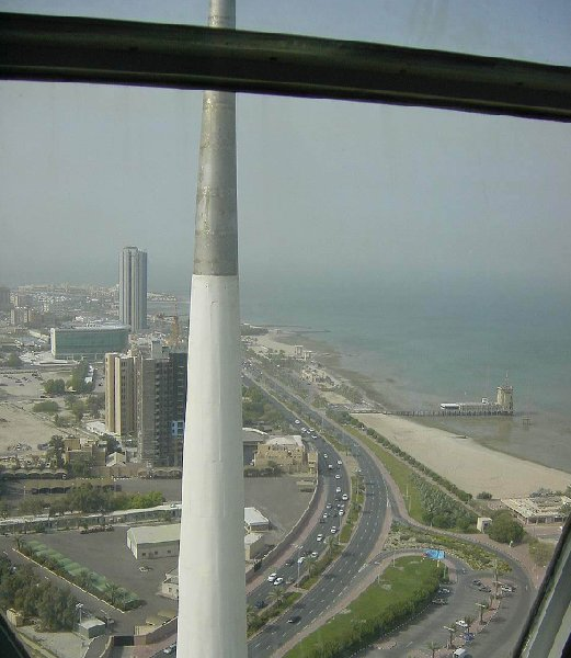 View from the Kuwait Towers, Kuwait City Kuwait