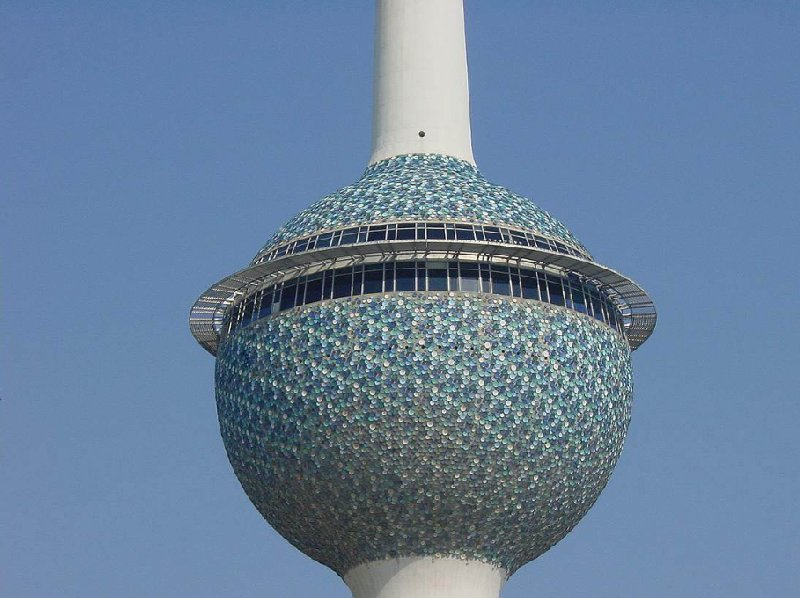 Decorations of the Kuwait Towers, Kuwait