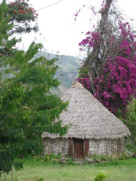 Traditional Kanak villages on the island of New Caledonia, New Caledonia