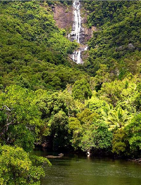 Photos of the Tao Waterfall, New Caledonia, Nouméa New Caledonia