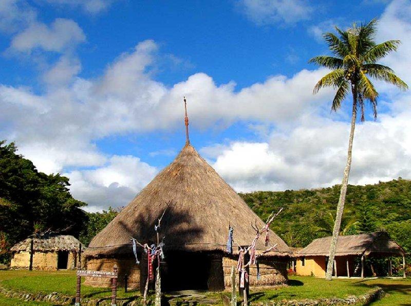 Case de la Chefferie, Hienghène, New Caledonia, New Caledonia