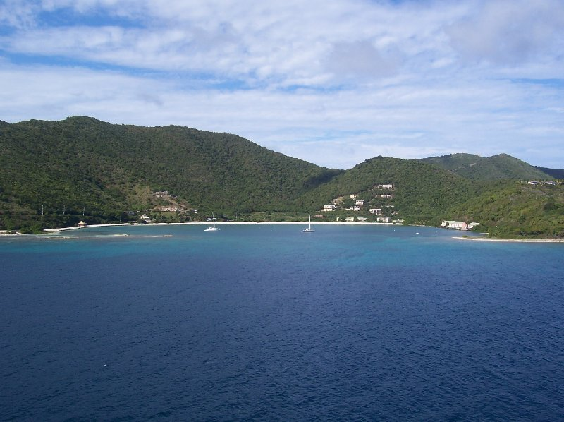 Beaches of Tortola, cruising along the bays, British Virgin Islands