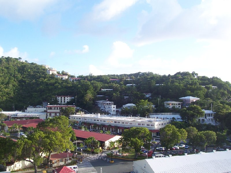 Pictures of Charlotte Amalie, the capital of St Thomas, United States Virgin Islands