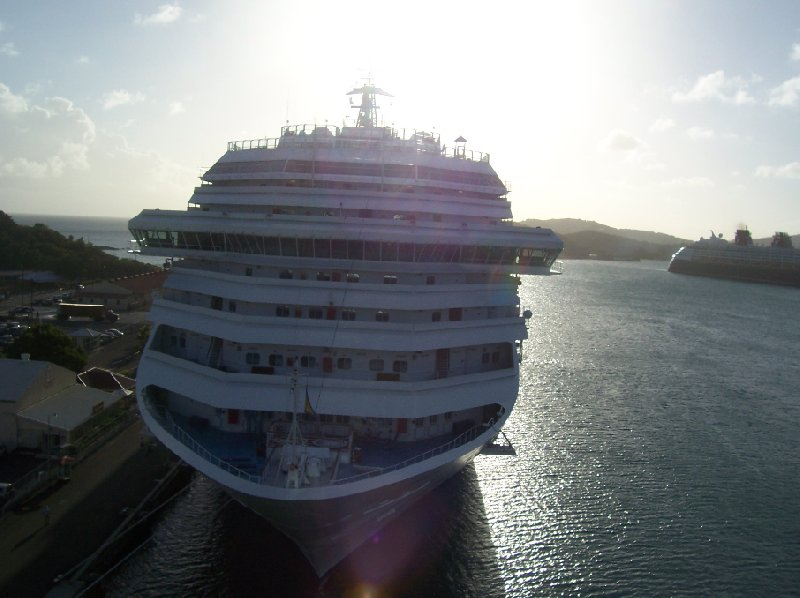 Cruise Ship in St Thomas, US Virgin Islands, United States Virgin Islands