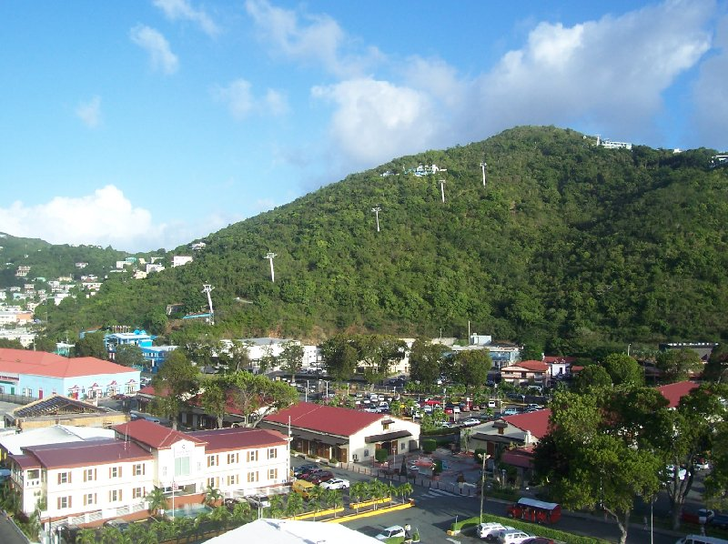 Photos of Charlotte Amalie and the Skyride to Paradise Point, United States Virgin Islands