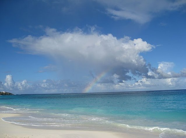 The beaches of Anguilla, Lesser Antilles, The Valley Anguilla
