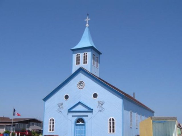 Church in Saint Pierre, Saint Pierre and Miquelon