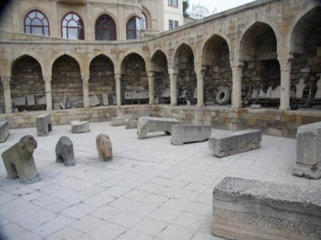 Palace of the Shirvanshahs in Baku, Azerbaijan , Azerbaijan