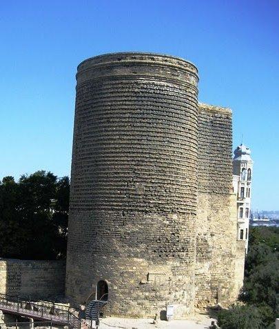 Maiden Tower in Baku, Azerbaijan , Azerbaijan