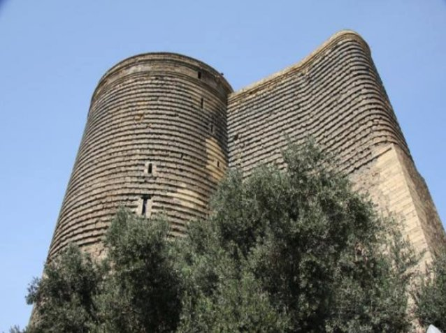 Pictures of the Maiden Tower in Baku, Azerbaijan , Azerbaijan