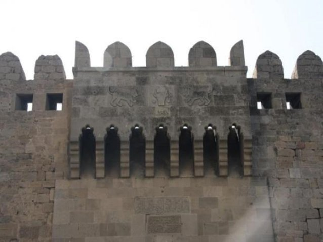 Photos of the Ramana castle near Baku, Azerbaijan, Azerbaijan