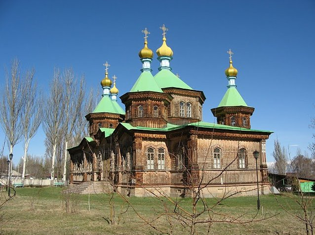 The Russian Orthodox Church nof Karakol, Kyrgyzstan, Karakol Kyrgyzstan