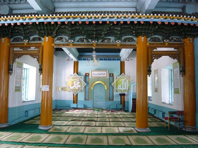 Pictures of the Dungan Mosque in Karakol, Kyrgyzstan, Kyrgyzstan