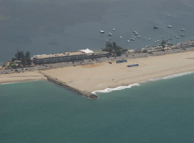 Helicopter Ride from Dande to Luanda Angola Review Sharing