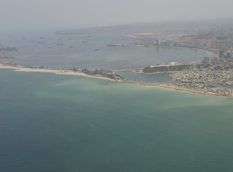 Helicopter Ride from Dande to Luanda Angola Album Photographs