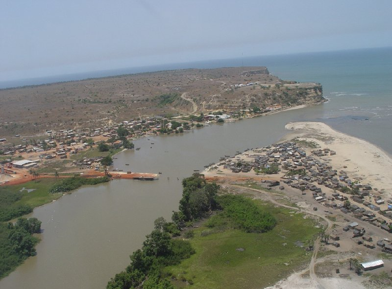 Helicopter Ride from Dande to Luanda Angola Diary Sharing