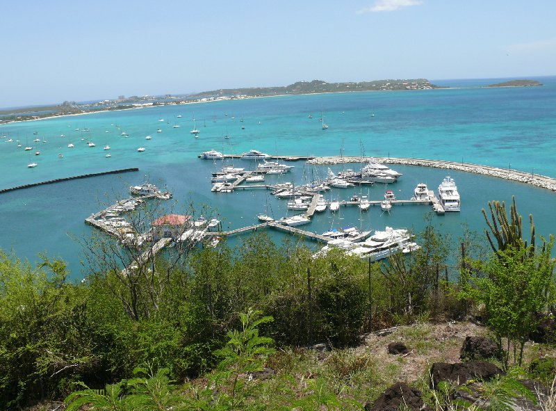 Panoramic photos of Simpson Bay, Sint Maarten, Netherlands Antilles
