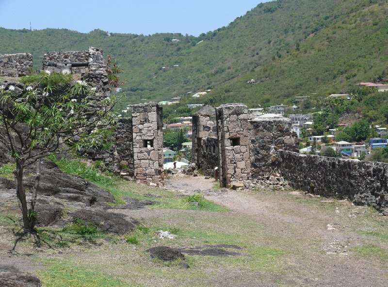 Pictures of Fort Louise, St Martin, Netherlands Antilles