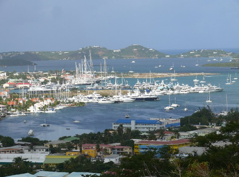 Panoramic pictures of Sint Maarten, Netherlands Antilles