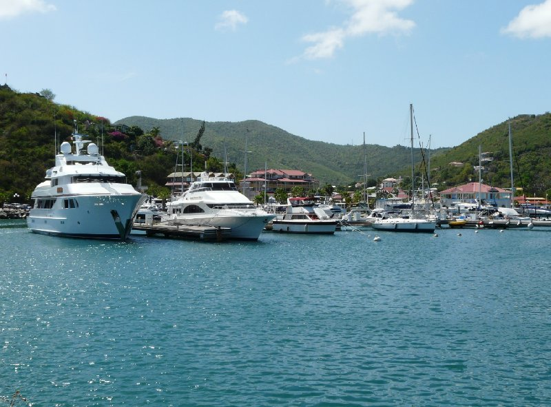 The boats in Marigot, St Martin, Philipsburg Netherlands Antilles