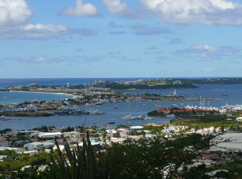 Pictures of Marigot harbour, Saint Martin, Netherlands Antilles